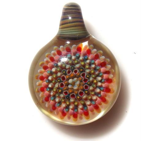 [CPF-04] clear poisonous flower pendant