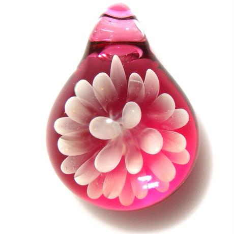 [MCN-75] mini clear flower pendant