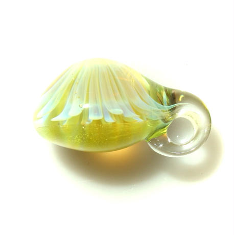 [MCYF-50]mini clear yellow flower pendant