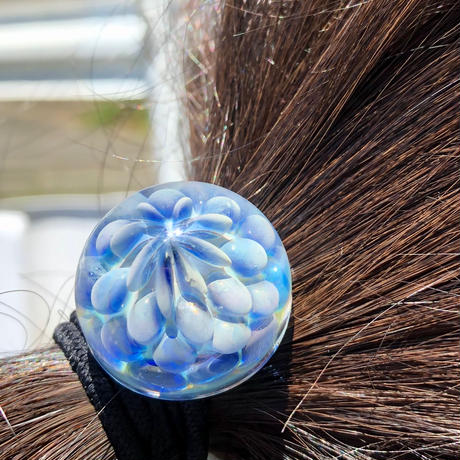 [HGC3-03]clear bud hair elastic