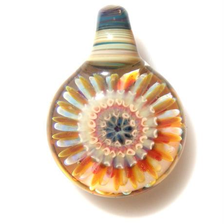 [MCPF-52]mini clear poisonous flower pendant