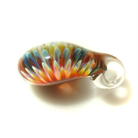 [MCPF-54]mini clear poisonous flower pendant