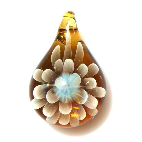 [MCN-92] mini clear flower pendant