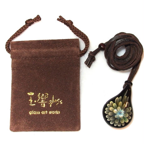 [FG-60] gradation flower pendant