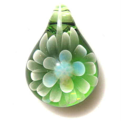 [MCN-54] mini clear flower pendant