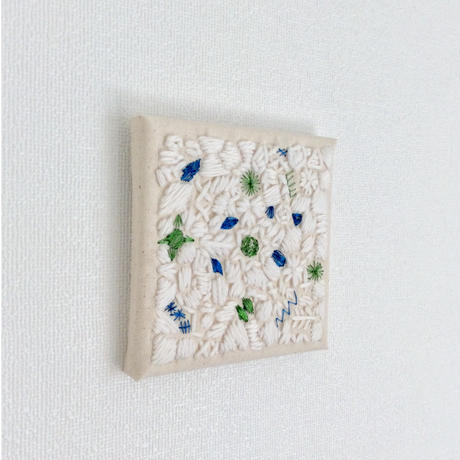 刺繍パネル(Po3・ラメ糸使用)