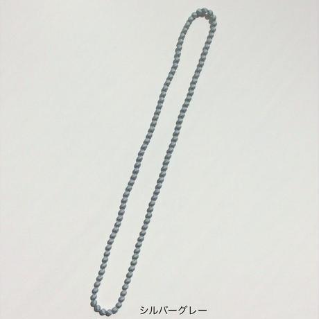 シルクビーズネックレス(8 mm X 100 cm)