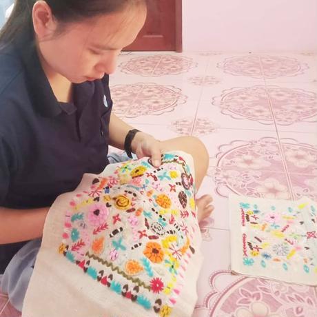 刺繍パネル(J3)