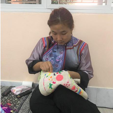 刺繍パネル(M1)