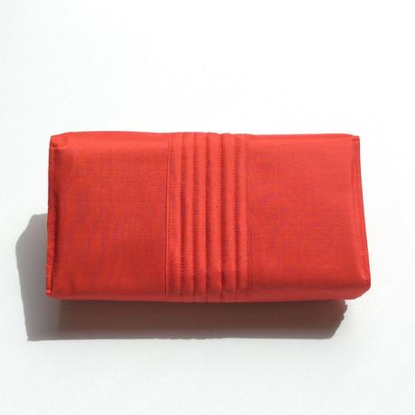 シルクのリボンクラッチ(バッグ)