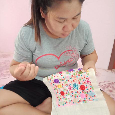 刺繍パネル(N2)
