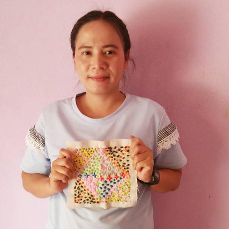 刺繍パネル(J1)
