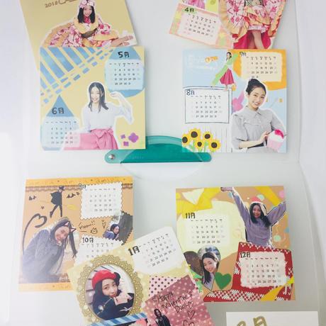 斎藤亜美 卓上カレンダー(サイン有)