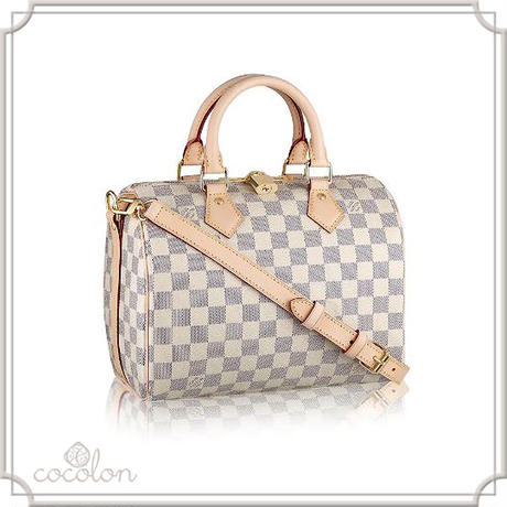 [Louis Vuitton]☆Spur掲載☆スピーディ バンドリエール25