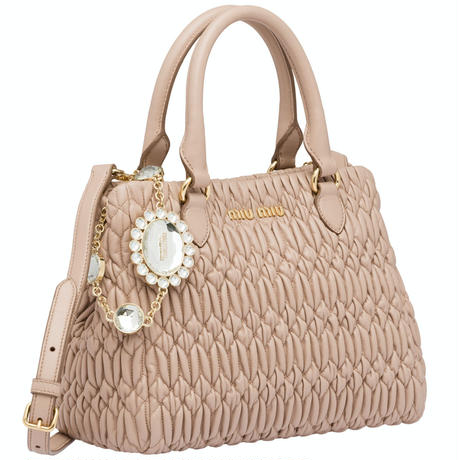 MM958 CLOQUET NAPPA LEATHER BAG