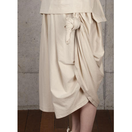[BASE MARK]美しいドレープスカート / beige   Women's
