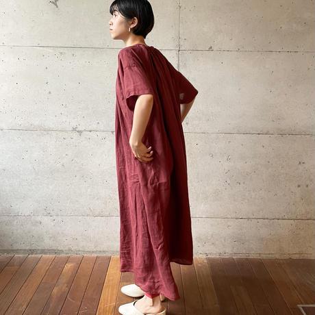 [FURALI] シェパード半袖ワンピース   / 全4色  | Women's