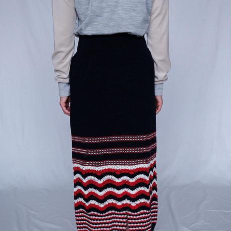 [COOHEM]カジュアルからドレススタイルまで合わせられるニットスカート/NAVY | Women's