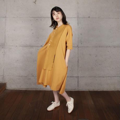[BASE MARK]今までにない不思議なポロ ドレス / 全2色   Women's