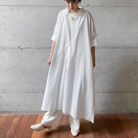 [MidiUmi] Aラインロングワンピース /  全2色  Women's