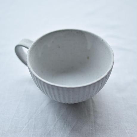[kousha ceramic works]kousha × フクモリ  カップ / 白