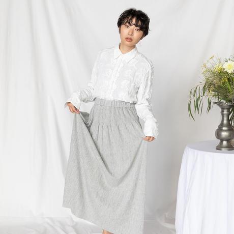 "[KENLAND] ""軽やかさに虜になる""ヨーロッパ最上級リネンのロングスカート|Women's"