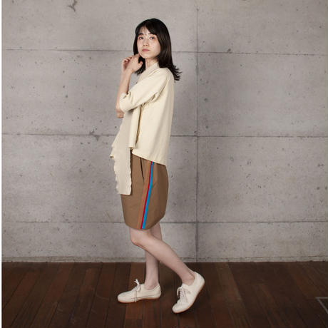 [BASE MARK] 今までにない不思議なポロシャツ / 全2色   Women's