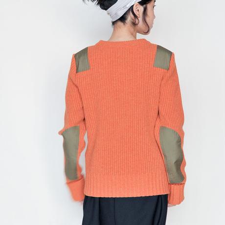 [RUMBLE RED]落ち着いた着心地。コマンドセーター /Brick Red   Women's