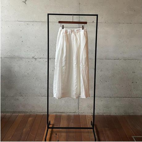 [FURALI] パネルスカート / オフホワイト   | Women's
