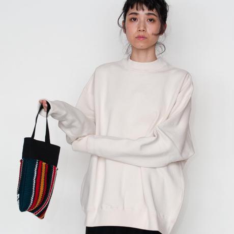 [EASTFAREAST]ゆったり上品に着られる モックネックスウェット / 全4色 | Unisex