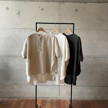 [FURALI] クルーピロー半袖シャツ   / 全3色  | Women's