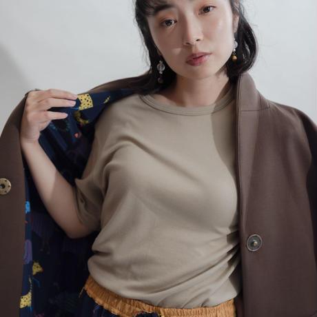 [久米繊維]色丸首 /全4色 | Unisex