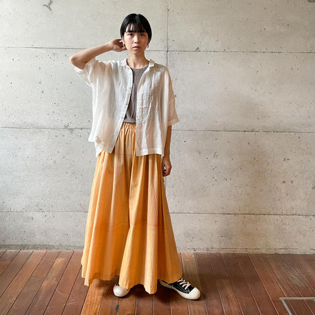 [FURALI] Big 開襟シャツ   / ホワイト  | Women's