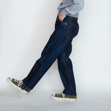 [ANACHRONORM]Type-α Basic Tapered Jeans – ONE WASH