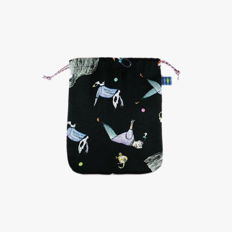 [mannine]  巾着    S size  /   全2色