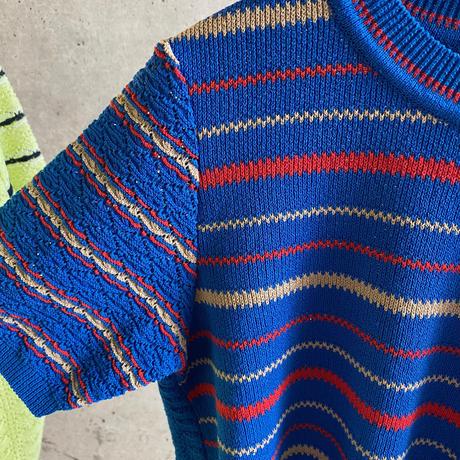 [COOHEM] 風通しが気持ち良いレトロなニットプルオーバー / 全2色 |Women's