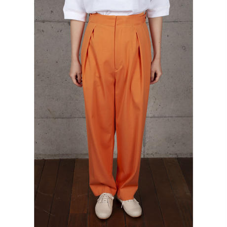 [RUMBLE RED] ダブルタックパンツ / 全2色 | Women's