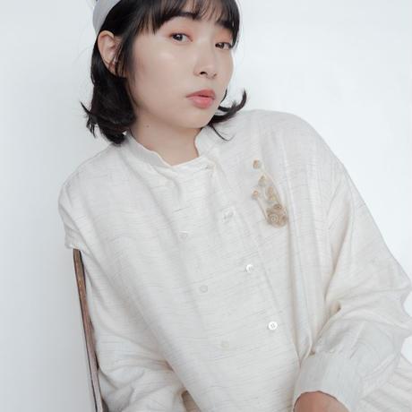 [POTTENBURN TOHKII] メッシュヘアバンド / WHITE x LAVENDER|Women's