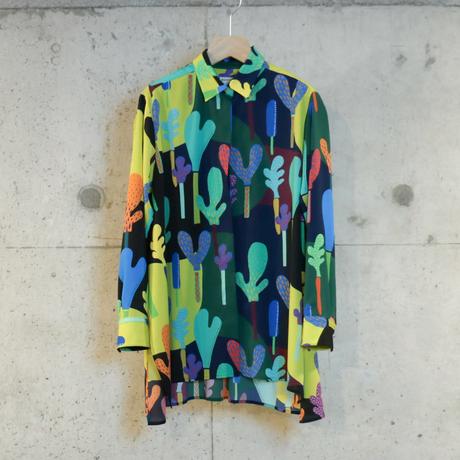 [mannine] 気分があがる着回し自由なクレアシャツ / 全2色 |Women's