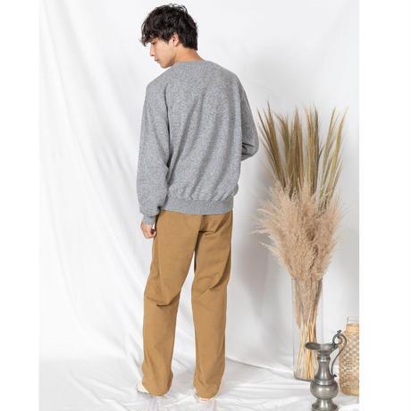 [COOHEM]着るたびに肌になじんでいく オーガニックコットンとカシミアのさらとろプルオーバー | Men's