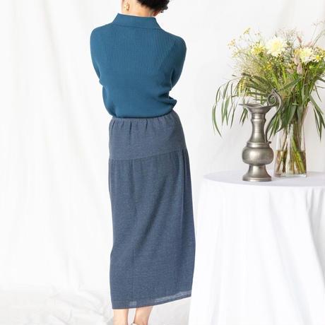 [KENLAND] リバーシブルでコーデを楽しむ動きやすいリネンニットスカート / 全2色|Women's