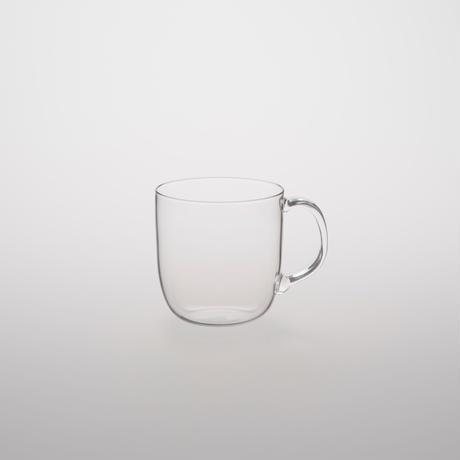 [TG glass]Glass Mug Simplicity   /  350ml