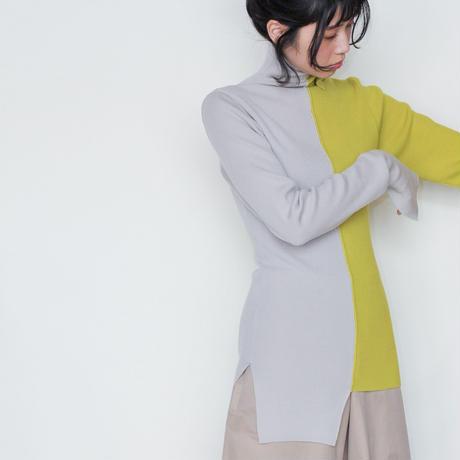 [BASE MARK] 個性的で面白い、アシンメトリーのセーター /全3色 | Women's