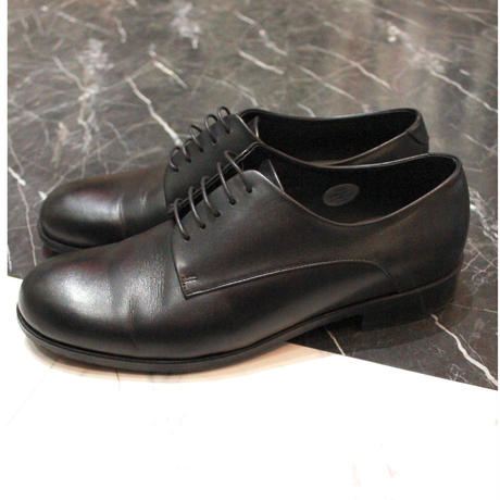 DERBY PLAIN TOE SHOES【BLK】