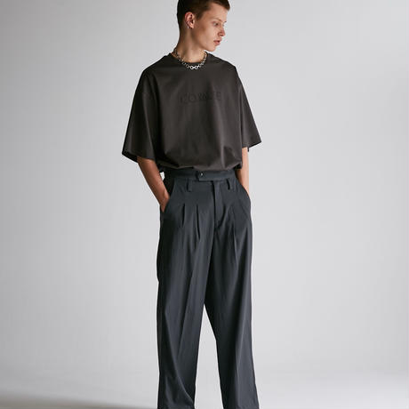 DRESS TWO TUCK WIDE PT【CML】