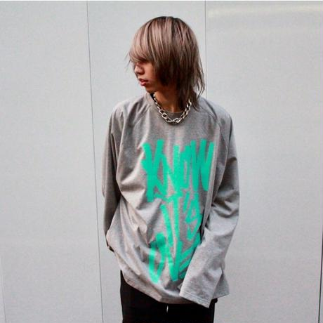 """I KNOW IT'S OVER"" LONG SLEEVE  TEE【GRY】"