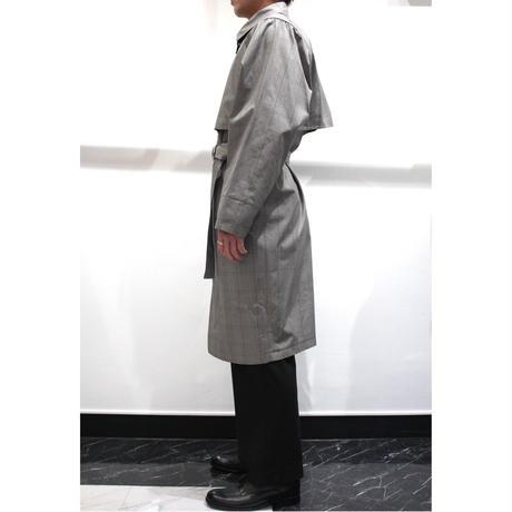 DIVERSITY TRENCH COAT【CHECK】