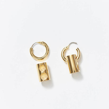 【入荷】LOYALTY  Hoop pierce (Gold)