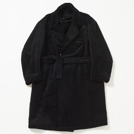 Over-sized BOA Double-breasted Coat (Black)