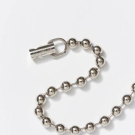 【入荷】LOYALTY Ball Chain Necklace(Silver)